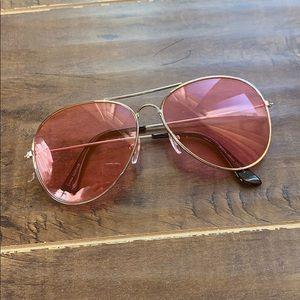 Accessories - Pink aviators